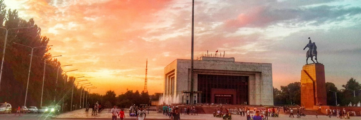 Tours in Central Asia. Ala-Too Square | El-tourism