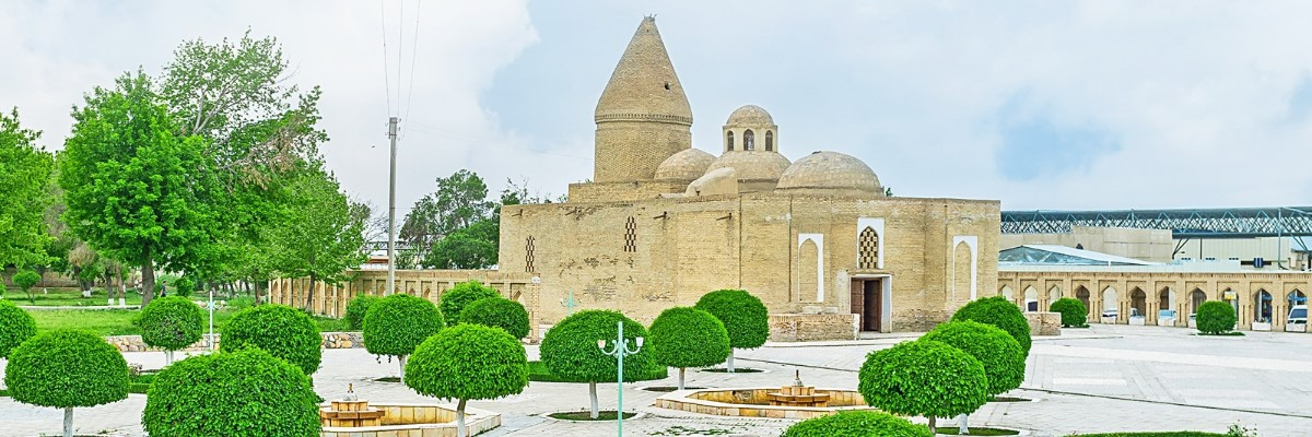 Tours in Central Asia. Mausoleum of Chashma Ayyub | El-Tourism